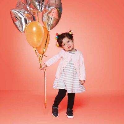 Imagem 3 do produto Meia calça para bebe em algodão Preto - Puket - PK2401L-P MEIA CALCA BABY LISA PRETO-3-4 anos