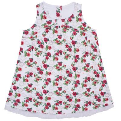Imagem 1 do produto Vestido em algodão egípcio Le Flowers - Bibe - 37E10-G23 VE EST DIG GDE BY BIBE-3