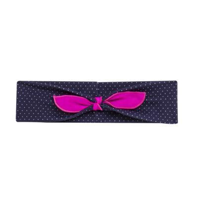 Imagem 6 do produto Biquini + Faixa em lycra Poá & Pink - Cara de Criança - B2615 POA RETRO B BIQUINI LYCRA-4