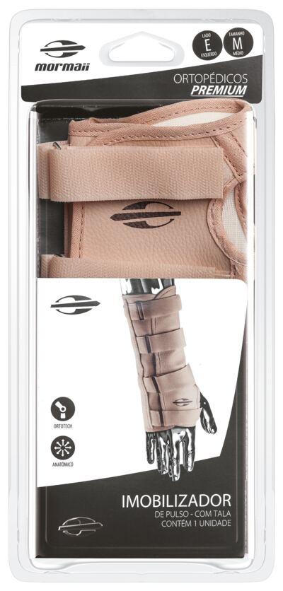 Imagem 2 do produto Imobilizador de Pulso com Tala Ortotech Mormaii - Bege Esquerdo M