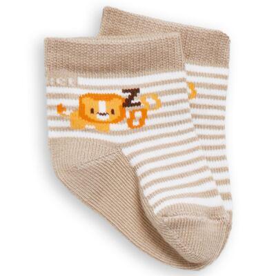 Imagem 1 do produto Meia Soquete recém-nascido Bege Leãozinho - Puket