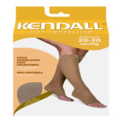 Imagem 1 do produto Meia Panturrilha 20-30 Alta Kendall - PRETO PONTEIRA FECHADA M