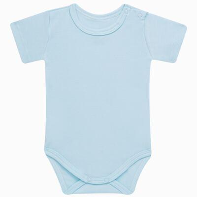 Imagem 2 do produto Pack: 02 Bodies curtos para bebe em algodão egípcio c/ jato de cerâmica Prince Bear - Mini & Classic - 1024656 PACK 2 BODIES MC SUEDINE URSO -P