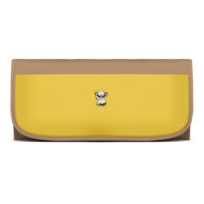 Imagem 5 do produto Mala Maternidade para bebe + Bolsa Genebra + Frasqueira Térmica Zurique + Trocador Portátil Due Colore Amarelo - Classic for Baby Bags