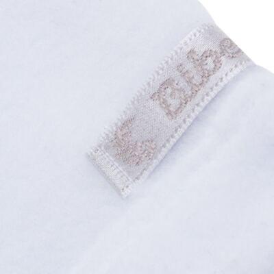 Imagem 3 do produto Casaco para bebe em microsoft Branco - Bibe - 10M14-01 CAS BASICO CRISTAL BY BIBE-M
