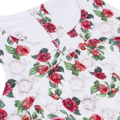 Imagem 2 do produto Vestido em algodão egípcio Le Flowers - Bibe - 37E10-G23 VE EST DIG GDE BY BIBE-1