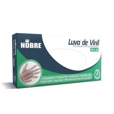 Imagem 1 do produto Luva de Procedimento Vinil Sem Pó Nobre - M