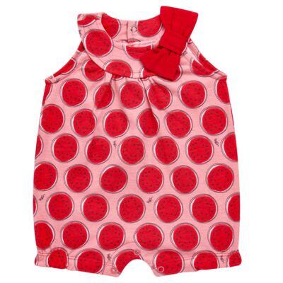 Imagem 1 do produto Macacão regata para bebe em malha Melancia - Tilly Baby - TB168443 MACACAO REGATA FEM MELANCIA-GG