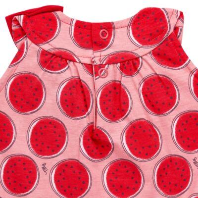 Imagem 3 do produto Macacão regata para bebe em malha Melancia - Tilly Baby - TB168443 MACACAO REGATA FEM MELANCIA-GG