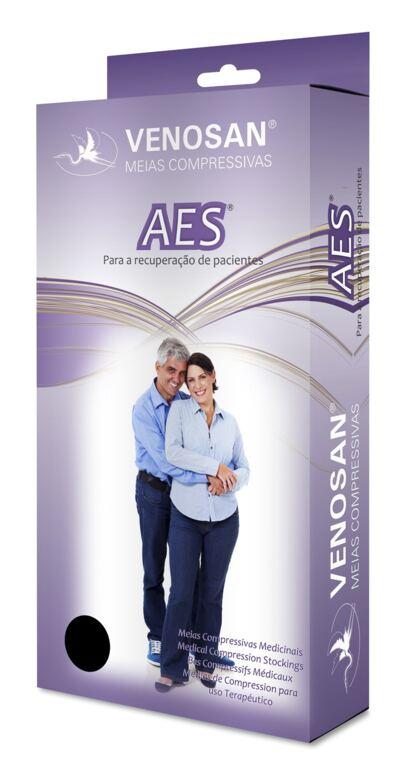 Imagem 1 do produto Meia Panturrilha AD 18 mmHg AES Venosan - G