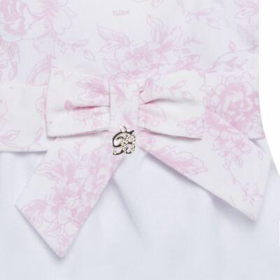 Imagem 4 do produto Macacão regata para bebe em algodão egípcio Toile du Jouy - Bibe - 41D05-A53 BANHO DE SOL FEM GERANIO-P