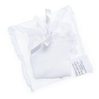 Imagem 3 do produto Meia para bebe Renda & Pérolas Branca - Roana - MB000025001 Meia Borbadada Laço Branco -G