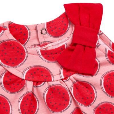 Imagem 2 do produto Macacão regata para bebe em malha Melancia - Tilly Baby - TB168443 MACACAO REGATA FEM MELANCIA-G