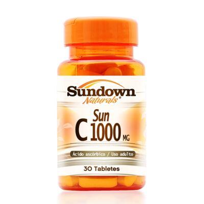 Imagem 1 do produto Vitamina C Sundown Naturals C 1000mg 30 Comprimidos