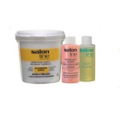 Imagem 1 do produto Salon Line Guanidina Super Cabelos Grossos E Resistentes 218g