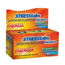 Stresstabs 600 - Zinco | 30 comprimidos