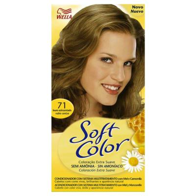 Imagem 1 do produto Tintura Soft Color Louro Acinzentado 71