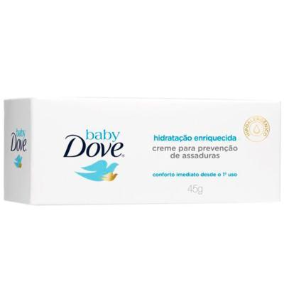 Imagem 1 do produto Creme para Assaduras Dove Baby Hidratação Enriquecida 45g