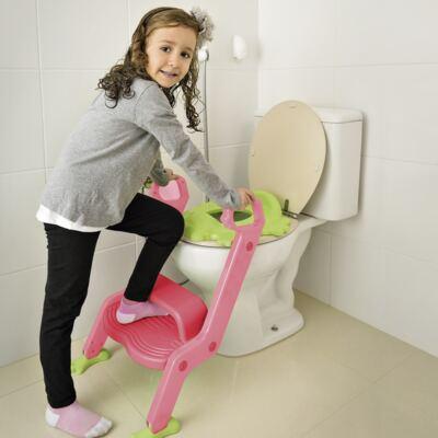 Imagem 2 do produto Redutor de Assento Com Escada Menina Multikids Baby - BB052