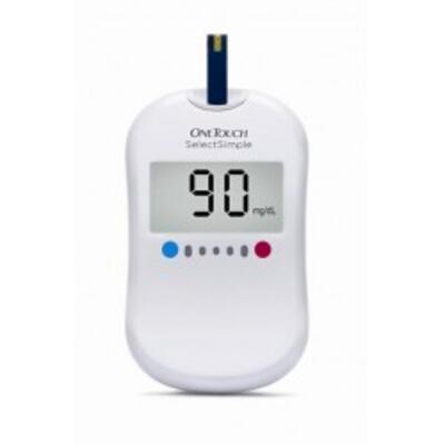 Imagem 1 do produto Kit Medidor de Glicose OneTouch Select Simple - Johnson's