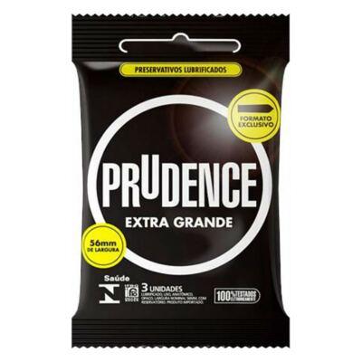 Imagem 1 do produto Preservativo Prudence Extra Grande 3 Unidades
