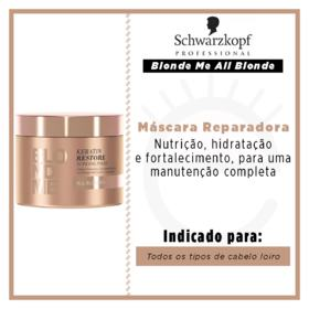 Schwarzkopf BlondMe All Blonde - Máscara Reparadora - 200ml