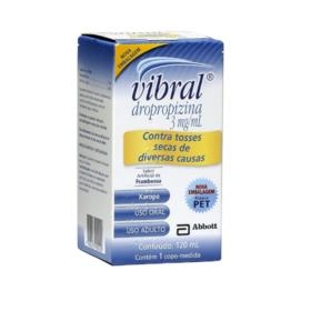 Vibral Xarope Adulto - 3mg/ml   120ml