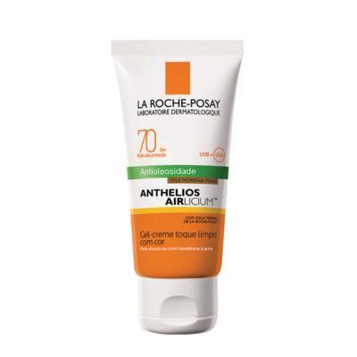 Imagem 5 do produto Protetor Solar Facial com Cor La Roche-Posay - Anthelios Airlicium Fps70 - Morena Mais