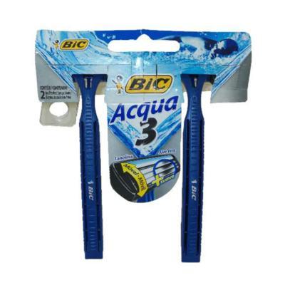 Imagem 1 do produto Aparelho de Barbear Bic Acqua 3 2 Unidades