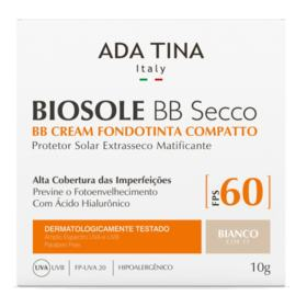 Ada Tina Biosole BB Secco Base Compacta FPS 60 - Ada Tina Biosole BB Secco Base Compacta FPS 60 10g - 15 Bianco