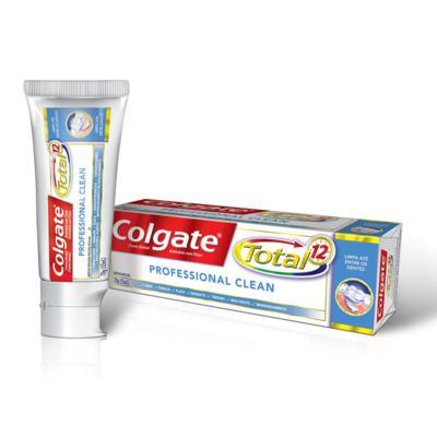 Imagem 1 do produto Creme Dental Colgate 12 Professional Clean - 70g