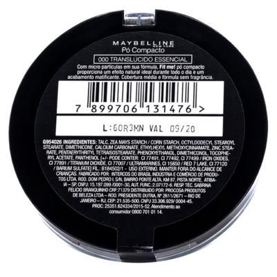 Imagem 4 do produto Fit Me! Maybelline - Pó Compacto - 000 - Translúcido Essencial