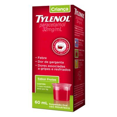 Imagem 4 do produto Tylenol Criança 160Mg/5Ml 60Ml Suspensão -