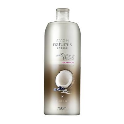 Imagem 2 do produto Shampoo Naturals Cabelo Nutrição e Brilho 750ml -