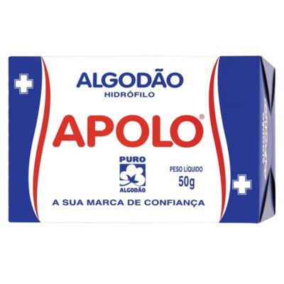 Algodão Apolo - Rolo Hidrófilo | 50g