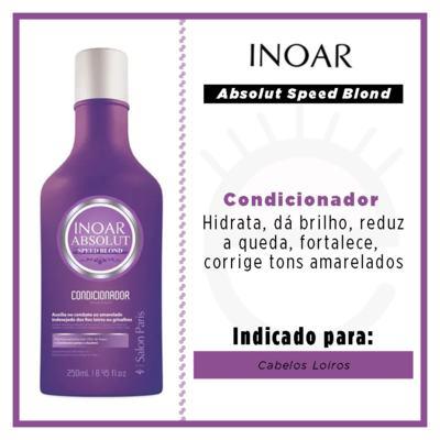 Imagem 3 do produto Inoar Absolut Speed Blond - Condicionador - 250ml