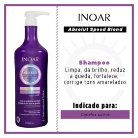 Inoar Absolut Speed Blond - Shampoo - 1L
