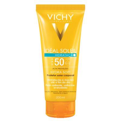 Imagem 1 do produto Protetor Solar Vichy Idéal Soleil Hidratação FPS 50 200ml