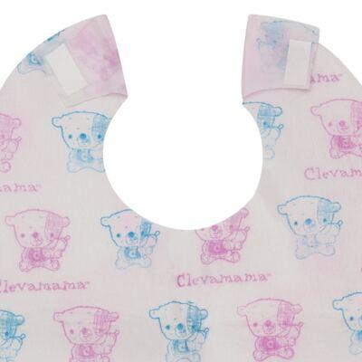 Imagem 4 do produto Babador descartável c/ 5 unidades ClevaBibs - Clevamama
