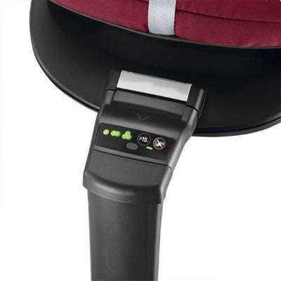 Imagem 10 do produto Travel System:  Bebe Conforto Pebble Plus Black Raven Maxi-Cosi + Base 2WayFix com sistema Isofix Black  Maxi-Cosi + Carrinho Moodd Black Irony Quinny