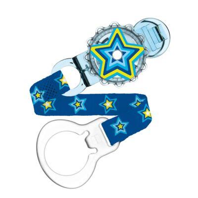 Imagem 1 do produto Prendedor para Chupeta Twist Clip Boys Estrelas - MAM