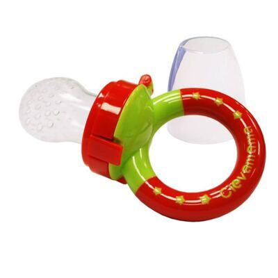 Imagem 2 do produto Mordedor papinha c/ refil em silicone ClevaFeed (6m+) - Clevamama