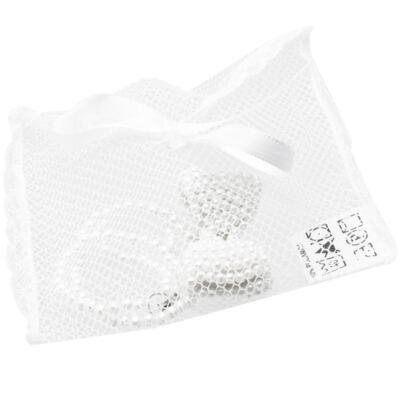 Imagem 3 do produto Prendedor de chupeta Pérolas & Strass Branco - Roana