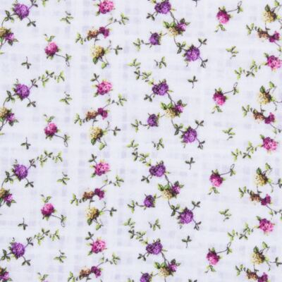 Imagem 2 do produto Regata para bebe em algodão egípcio Cute Flowers - Bibe - 38O02-G44 REGATA ESTAMPA DIGITAL FLORES LILÁS-G