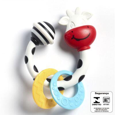 Imagem 2 do produto Meu Primeiro Chocalho Mordedor Vaquinha (0m+) - Tiny Love