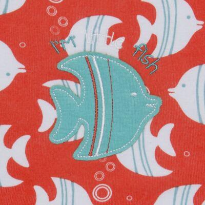 Imagem 2 do produto Babador para bebe atoalhado Cute Fish - Classic for Baby
