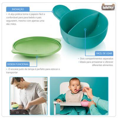 Imagem 2 do produto Papeiro Feeding Bowl Boys (6m+) - MAM