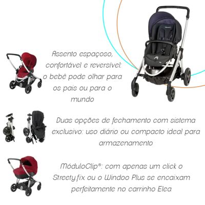 Imagem 10 do produto Carrinho de bebê Elea Total Black (0m+)  - Bébé Confort