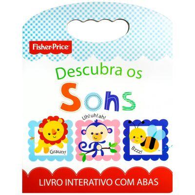 Imagem 1 do produto Livro infantil Descubra os Sons (12m+) - Fisher Price