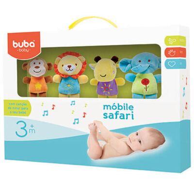 Imagem 1 do produto Móbile Musical para Bebe Safari Friends (3m+) - Buba